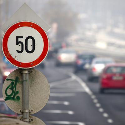 На столичных дорогах ограничивают скорость для автомобилей