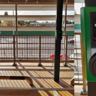 В аэропорту «Борисполь» открыли первую зарядку для электромобилей