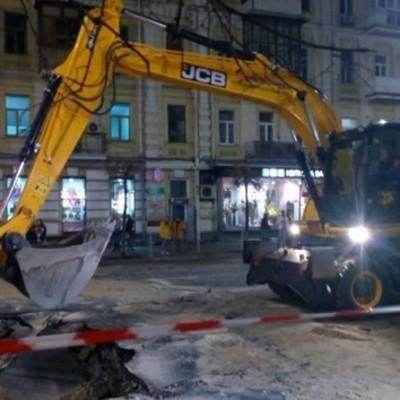 Коммунальный коллапс в центре Киева: стало известно, когда ликвидируют прорыв на теплотрассе