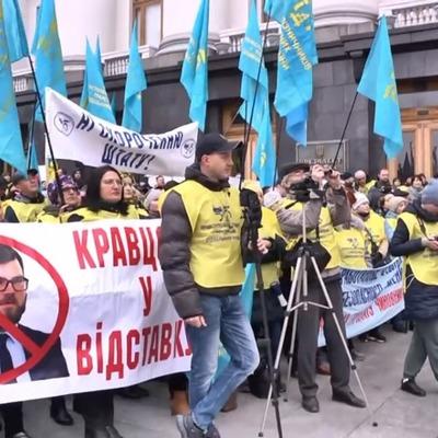 Митинг у Офиса Зеленского закончился смертью