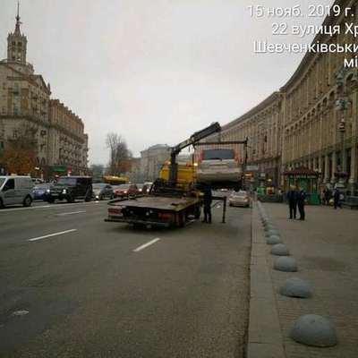 Инспекторы по парковке начали самостоятельно эвакуировать автомобили — КГГА