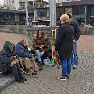 КГГА организует зимние патрули, которые будут помогать бездомным