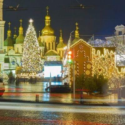 На новогодние и рождественские праздники в Киеве потратят более 9 млн грн