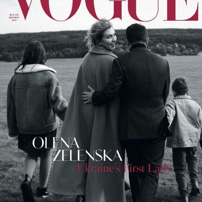 Елена Зеленская появится на обложке декабрьского Vogue в Украине (ФОТО, ВИДЕО)
