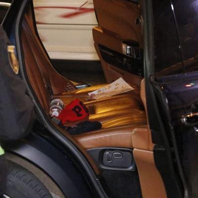 В центре Киева расстреляли автомобиль депутата Киевоблсовета Соболева, погиб его трехлетний сын (фото)