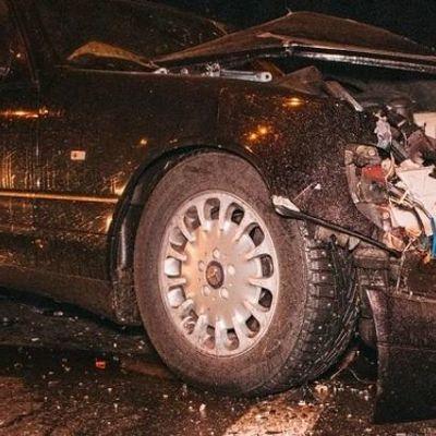 В Киеве столкнулись пять автомобилей, есть пострадавшие