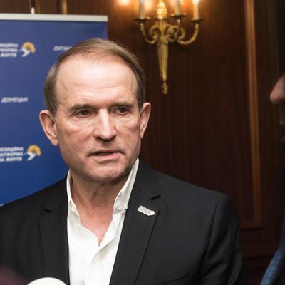 Медведчук: У Зеленского нет политической воли для мирного урегулирования конфликта на Донбассе