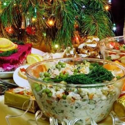 Пять самых вредных продуктов новогоднего стола