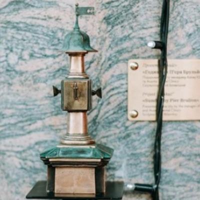 """В Киеве установили очередную минискульптуру проекта """"Шукай"""" (фото)"""