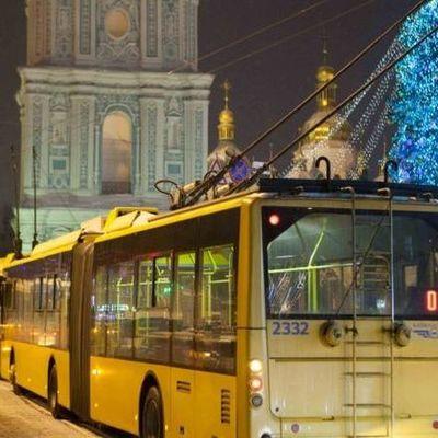 В Киеве в новогоднюю ночь запретят движение возле Софийской площади