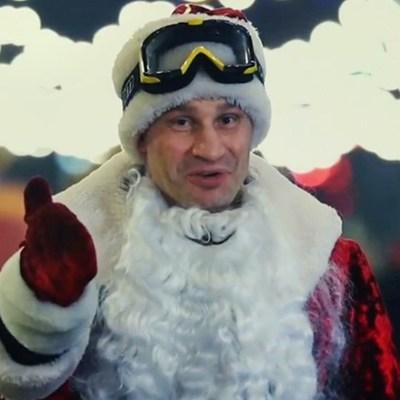 Кличко стал героем новогоднего мультика: как мэр Киева раздавал столице подарки