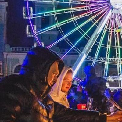 Новый год на Контрактовой площади в Киеве встретили 40 тысяч людей, - ФОТО