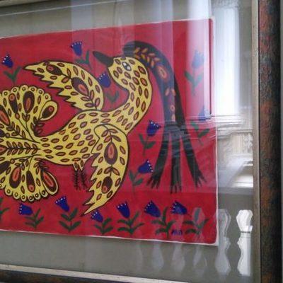 В Киеве показывают чудо-птиц Марии Примаченко