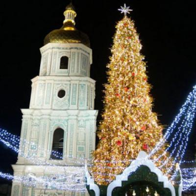 В Киеве на Рождество пройдет Марш звездочетов и состоятся праздничные концерты