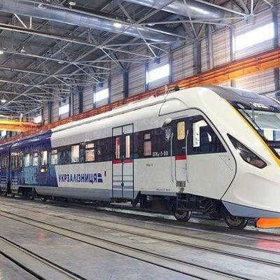 Новый поезд Киев-Борисполь сломался на ходу