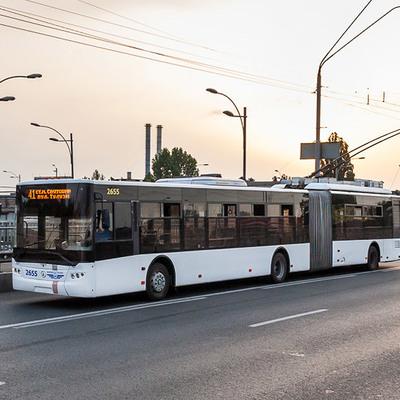 В Киеве изменится режим работы ночных троллейбусов №93Н, №94Н