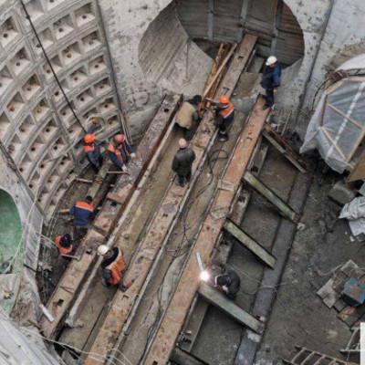 Столичные власти заявили о начале работ по реконструкции Бортнической станции аэрации (фото)