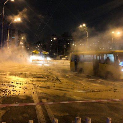 Кипятком затопило крупнейший ТЦ в Киеве: людей с ожогами эвакуировали (ФОТО, ВИДЕО)