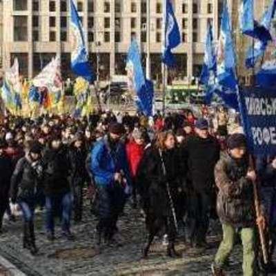 Не уволят только покорных - в Киеве на протест вышли профсоюзы (фото)