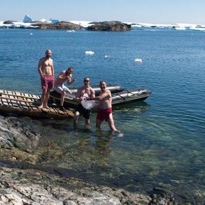 Искупались в арктической