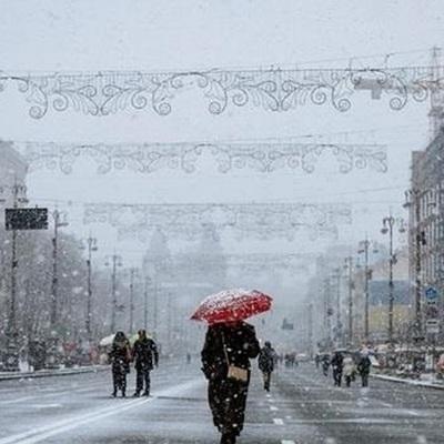 Погода на неделю: жителей Киева ждут дожди и «капля» снега