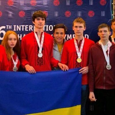 Юные киевляне завоевали 12 медалей на Международной математической олимпиаде