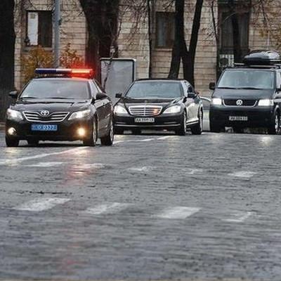 В Киеве на три дня ограничат движение транспорта из-за визита Помпео