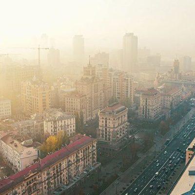 Где в Киеве повышен уровень загрязнения воздуха