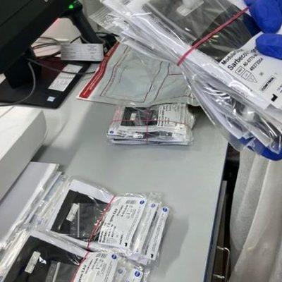 Хватит на 950 человек. Украина получила наборы для тестирования коронавируса