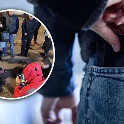 В Киеве задержали на горячем ушлых карманников: фото группы