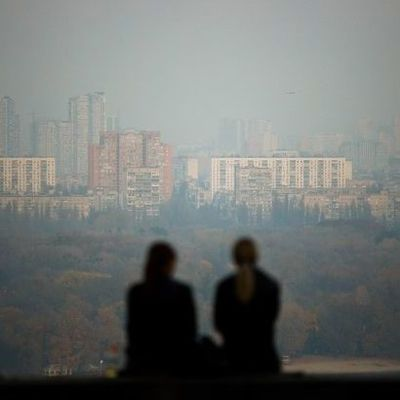 В Киеве утром 8 марта туман