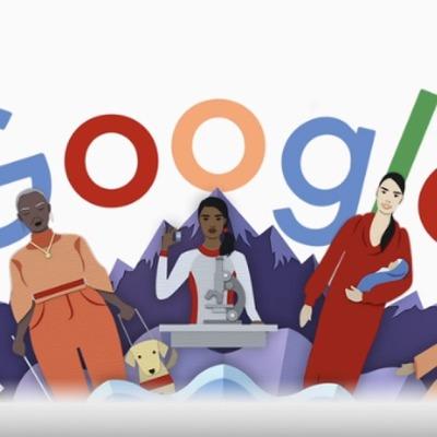 Google выпустил дудл о женщинах к 8 марта
