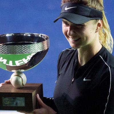 Украинка Свитолина выиграла турнир в Монтеррее!