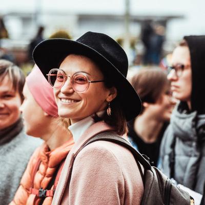 Митингующая столица в лицах: самые яркие фото с акций 8 марта в центре Киева