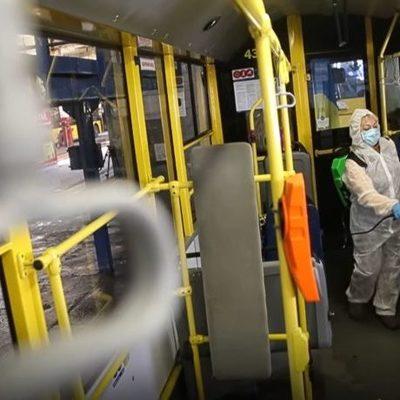 Видео дня. Как моют и дезинфицируют троллейбусы