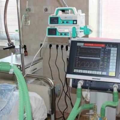 В больницах Киева есть 380 аппаратов искусственной вентиляции легких