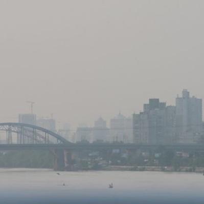 Загрязнение воздуха в Киеве зашкаливает