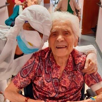 104-летняя итальянка победила коронавирус