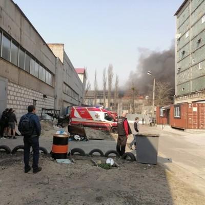 В Киеве из-за любителей шашлыка вспыхнул масштабный пожар