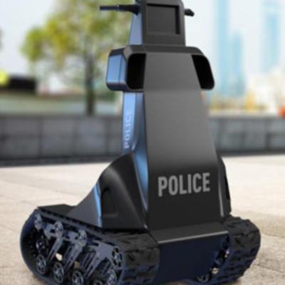 В Украине создали робота-полицейского для патрулирования улиц во время пандемии