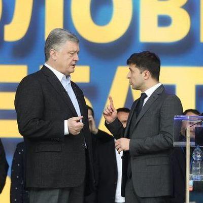 Год дебатам Зе и По. Как бы Зеленский сегодня ответил на вопросы, которые он задавал Порошенко