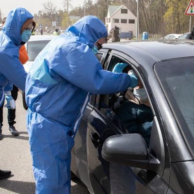 На въездах в Киев больше не измеряют температуру