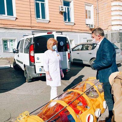 В главной инфекционной больнице Киева заканчиваются койки для больных коронавирусом