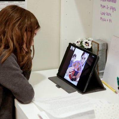 В Киеве заработал первый в Украине детский сад онлайн