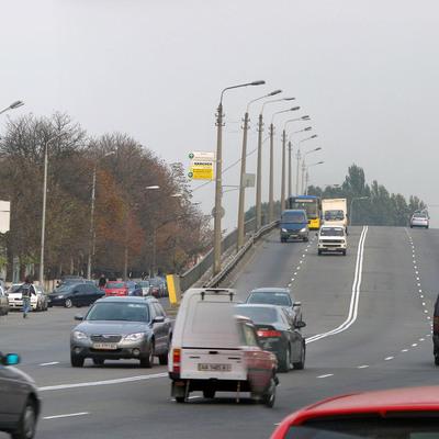 В Киеве больше месяца будут ремонтировать проспект Степана Бандеры