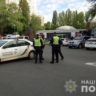 Полиция Киева усилила меры безопасности на 9 мая, часть улиц перекрыли