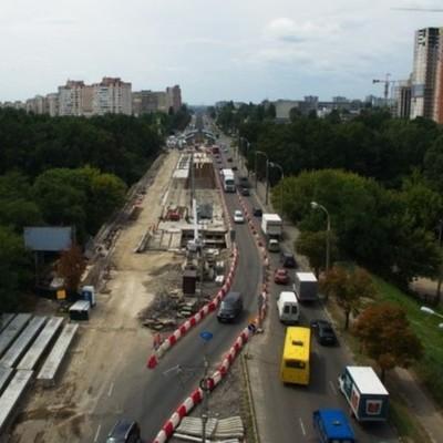 Борщаговский путепровод в Киеве откроют к осени