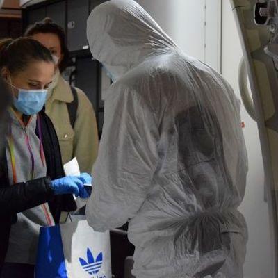 За сутки в Украину прибыли 184 человека рейсами из трех стран