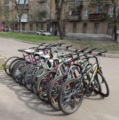 В Киеве появились первые велосипедные светофоры: где установили