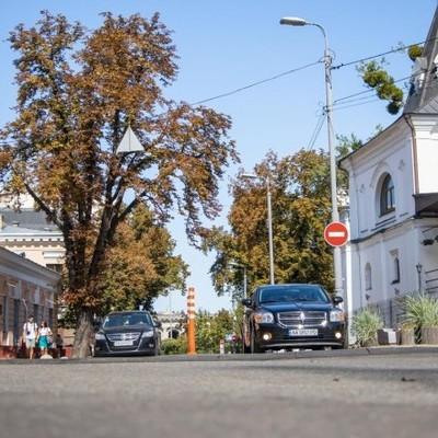 В Киеве ко Дню города обновили две старинные улицы